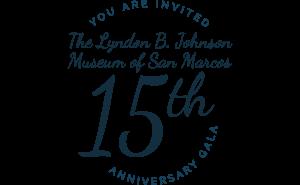 15th Anniversary Gala Logo